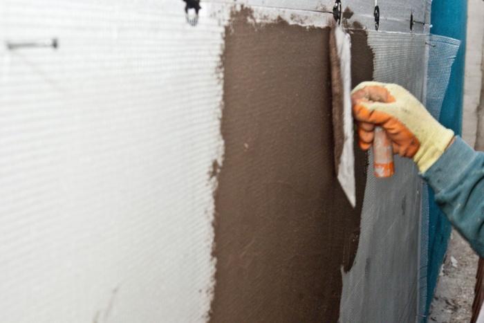 Пеноплекс цементным раствором можно штукатурить расход щебня в смесях бетонных