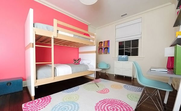 Tweens Space Girls Bed