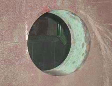 Отверстие под вентиляционную трубу