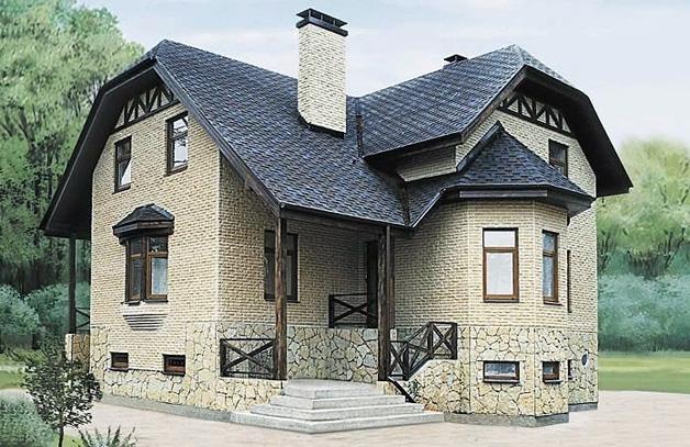 Дом с высоким цоколем оснащается эффективной вентиляцией для постоянного отвода влаги