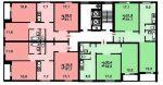 Серия домов п 30 – планировки с размерами, дизайн-проекты 1, 2, 3-комнатных квартир