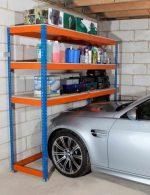 Стеллажи для гаража деревянные – полки и системы хранения, гаражные полочки для колес и для инструмента, оборудование разборных стеллажных конструкций